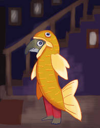 Costume Fish by Chihuahuat0by