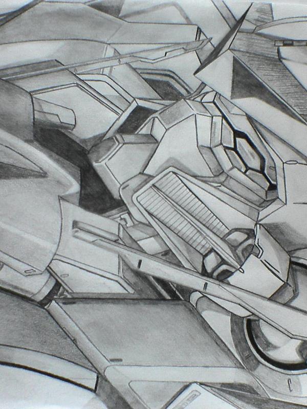 Gundam Exia by Law3208