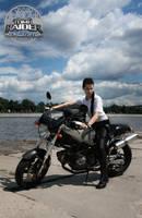 Ducati Monster by Anastasya01