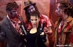 Lara and Zombie