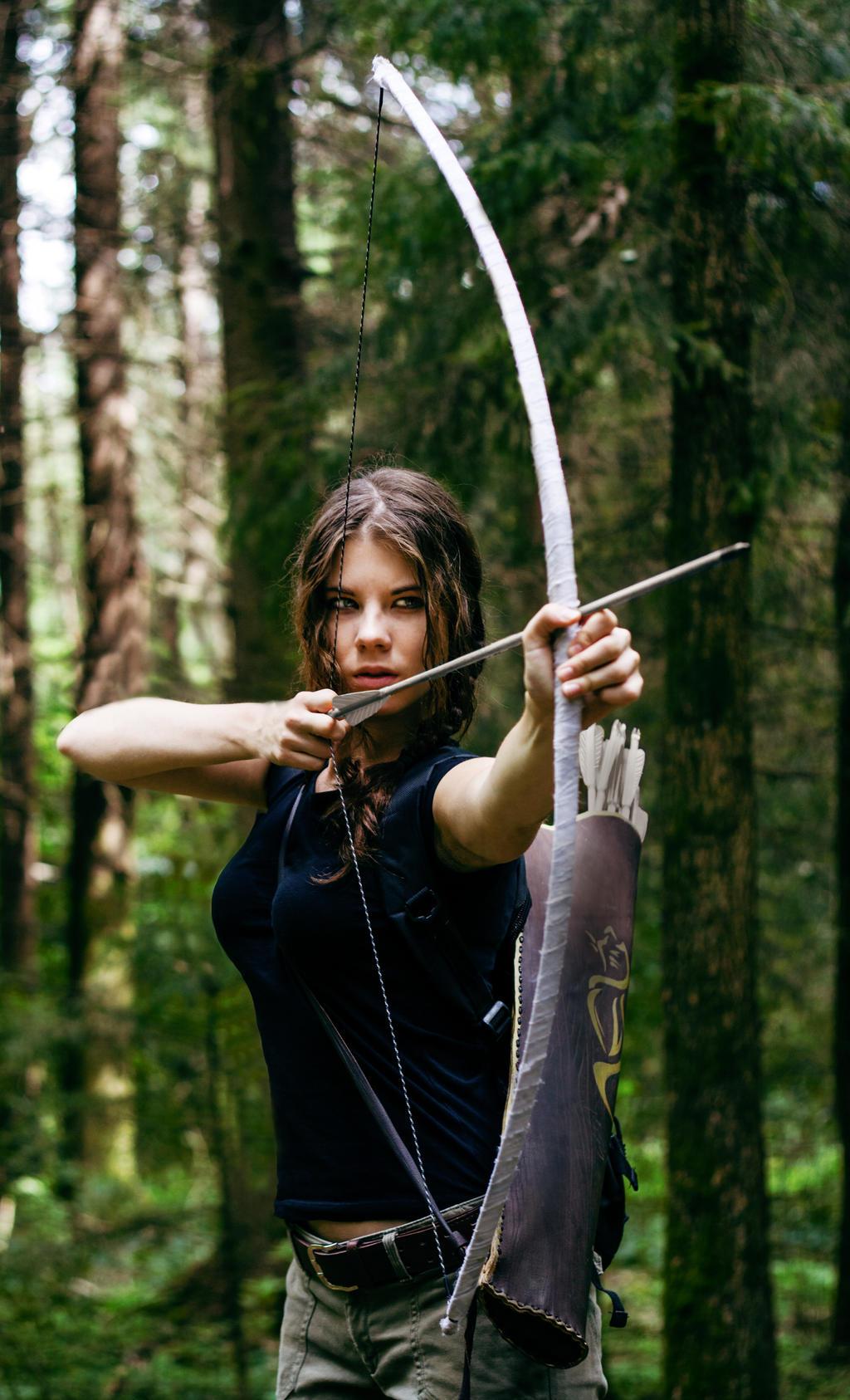 Hunger Games-Katniss Everdeen by Anastasya01