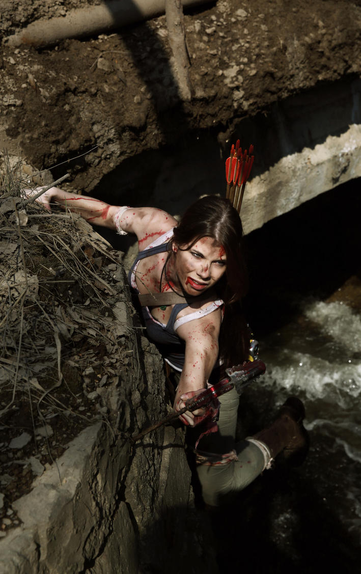 Tomb Raider Survivor-dangerous way by Anastasya01