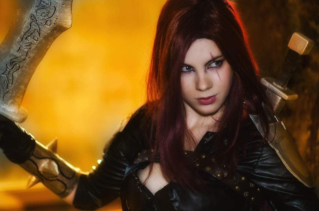 Katarina-League of Legends by Anastasya01