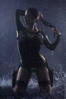 Tomb Raider:Underworld-Lara Croft wetsuit by Anastasya01