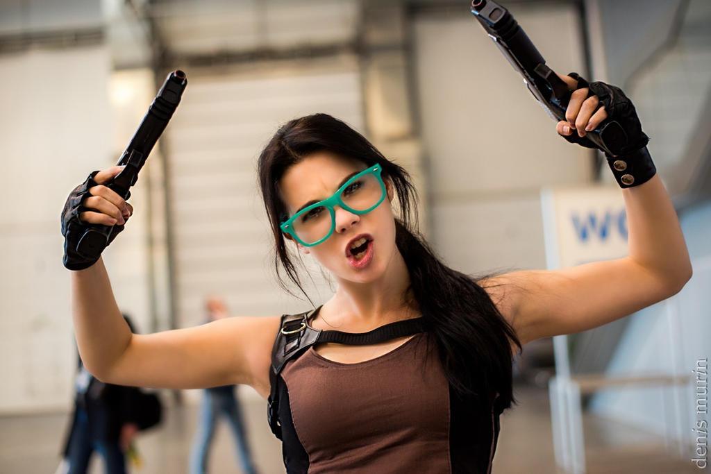 Lara Croft hipster by Anastasya01