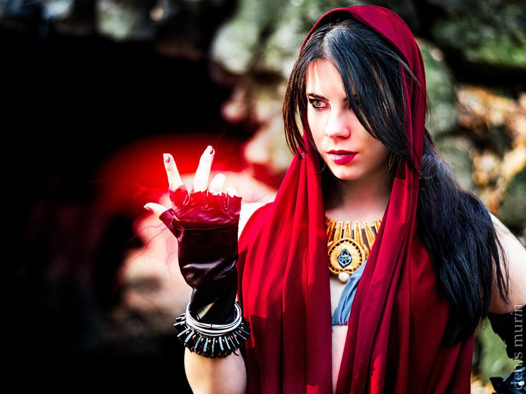 Morrigan Dragon Age cosplay by Anastasya01