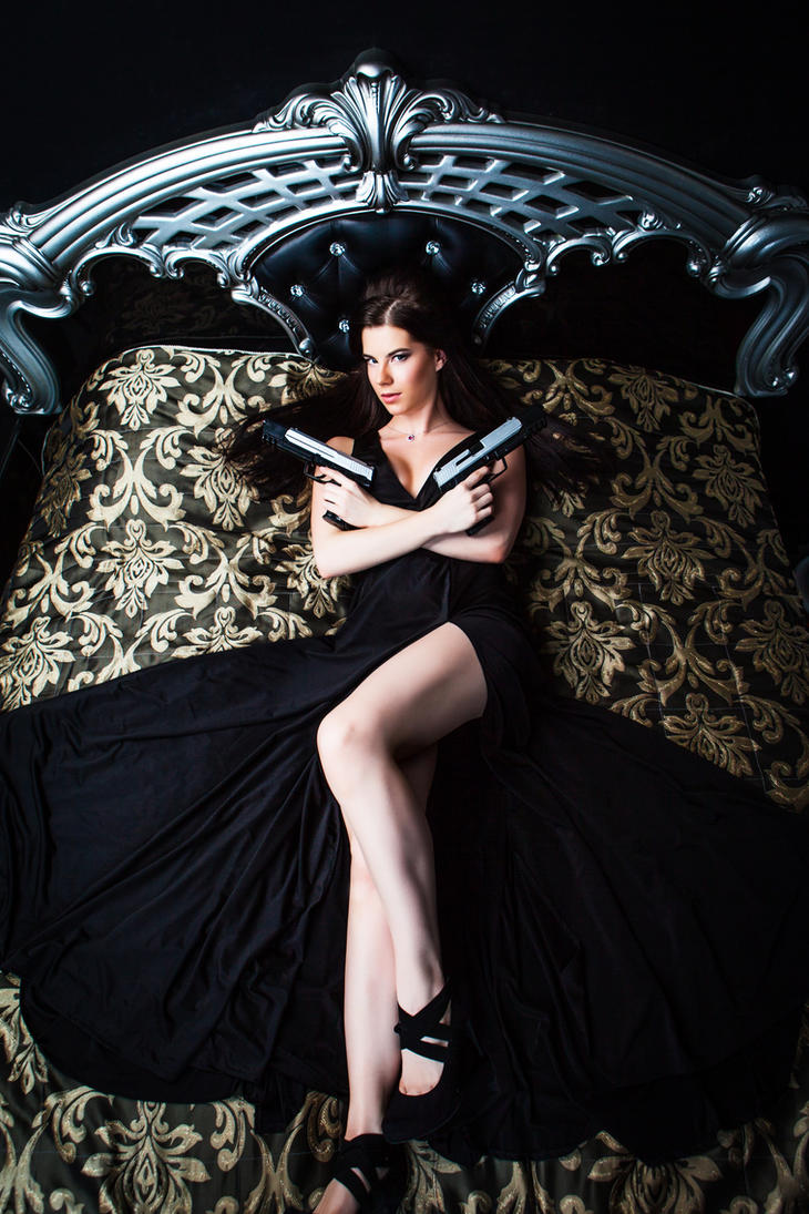 Lara Croft-evening dress by Anastasya01