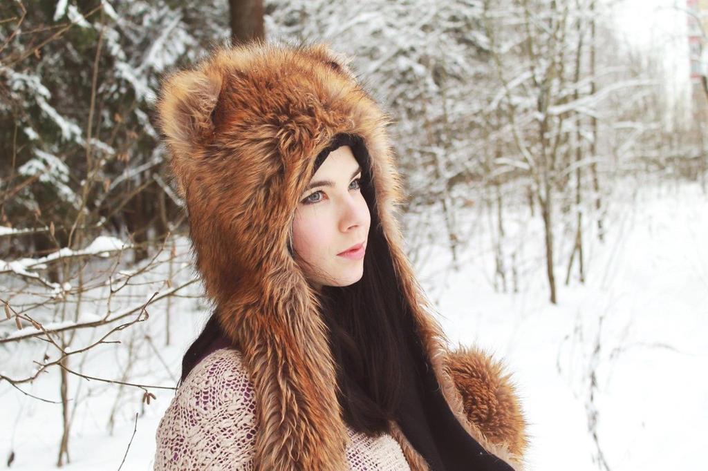Winter fox by Anastasya01