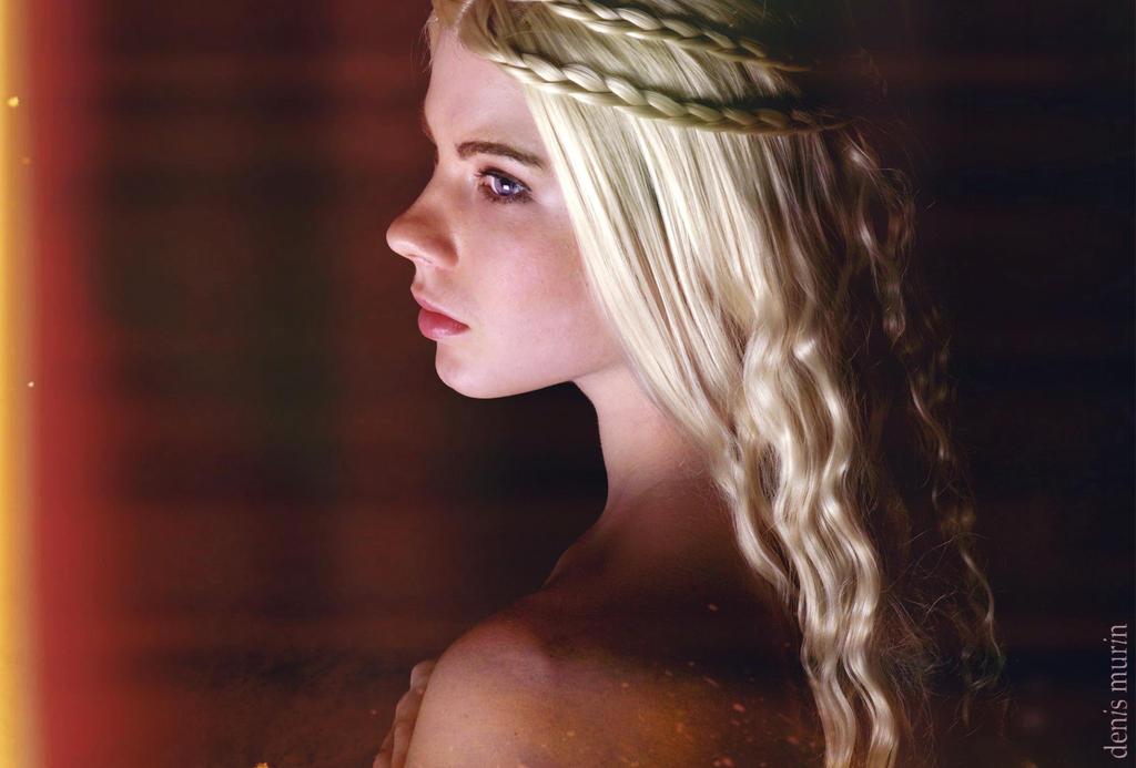 Daenerys Targaryen - Fire cannot kill a dragon by Anastasya01