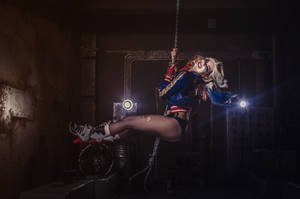 Harley Quinn -  I came in like the wrecking ball by Anastasya01
