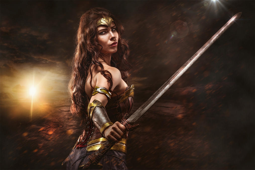 Wonder Woman - Is she with you? by Anastasya01