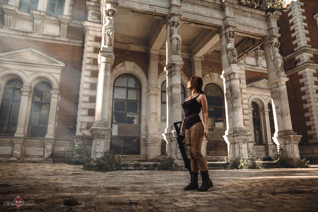 Lara Croft's adventure by Anastasya01
