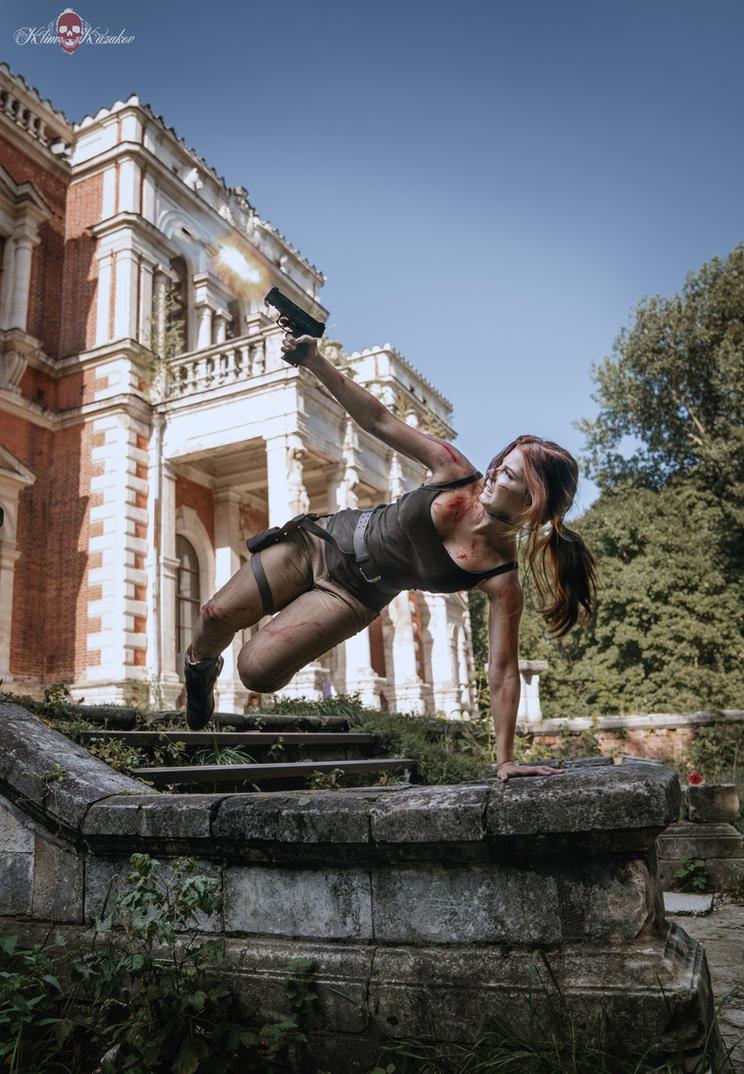 You can do it Lara! by Anastasya01
