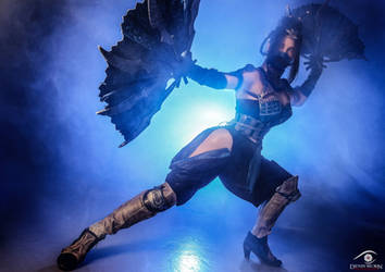 You will learn respect! - Kitana MKX by Anastasya01
