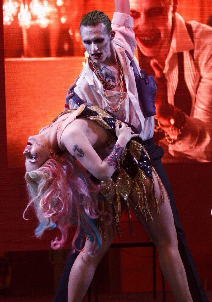 Harley Quinn and Joker dance by Anastasya01