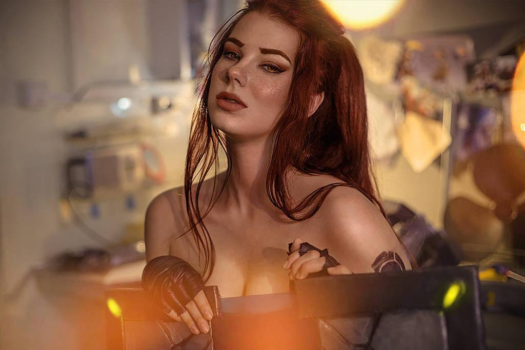 Brigitte Overwatch by Anastasya01