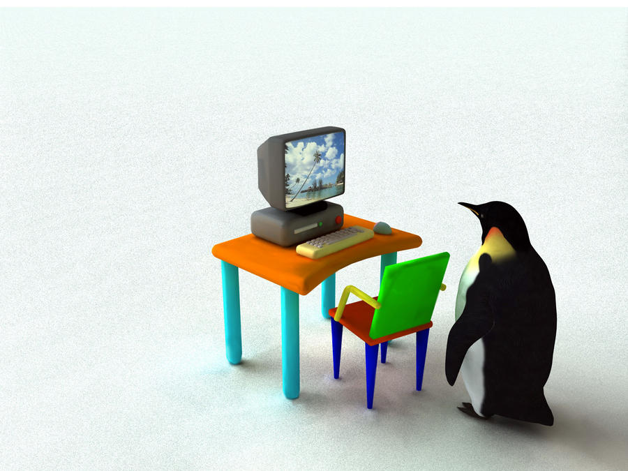 Penguin Dreams by Shoofly-Stock