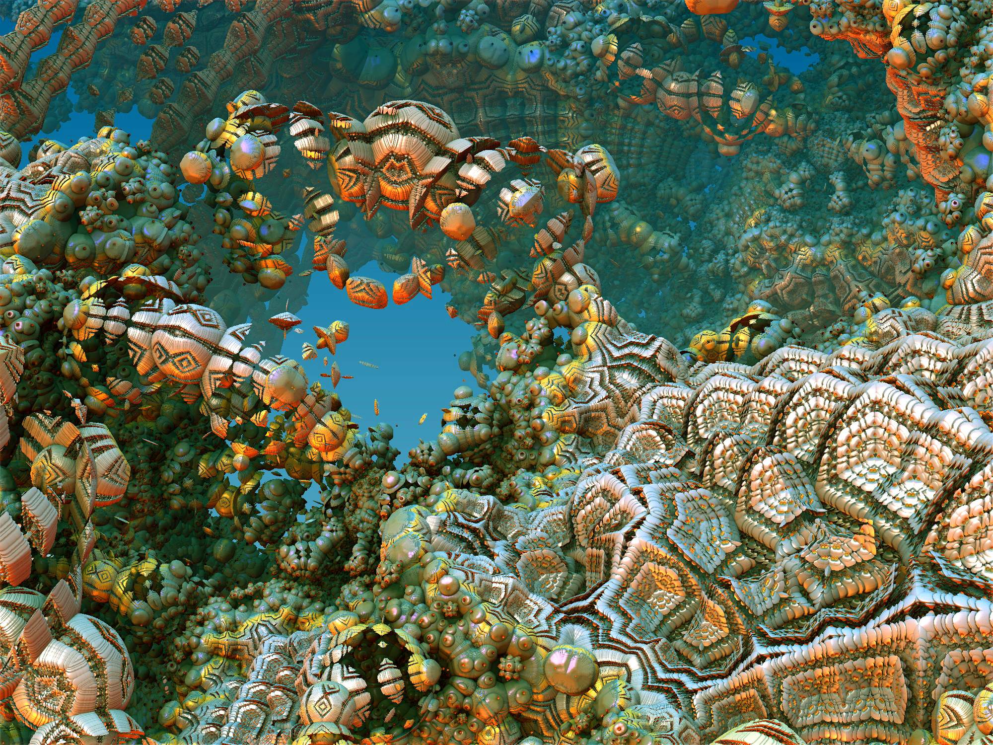 Fractalized Coral Reef by Shoofly-Stock