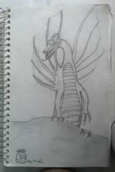 A Dragon.... Sorta.... by Draconis-Glade