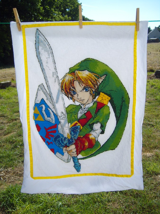 the pillowcase of Link by bzh29