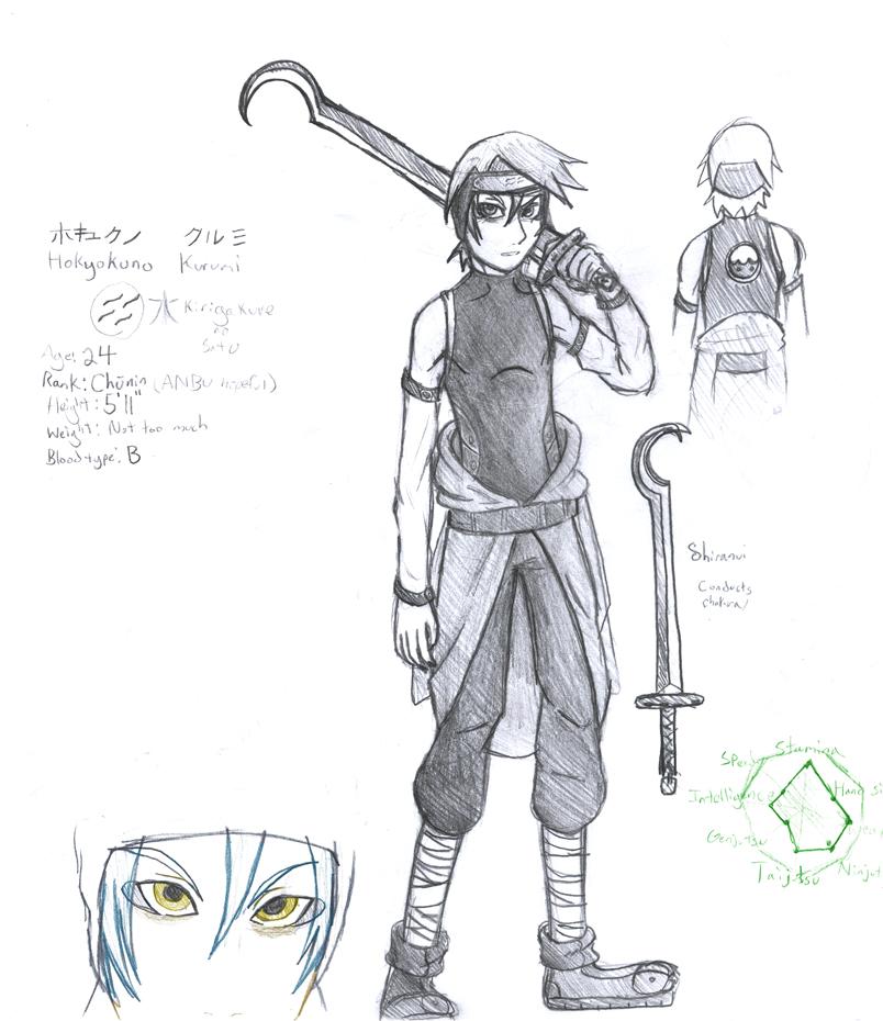 Naruto: Hokyokuno Kurumi by Ansemaru