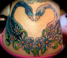 Ah Swan Love... by RoosterDean