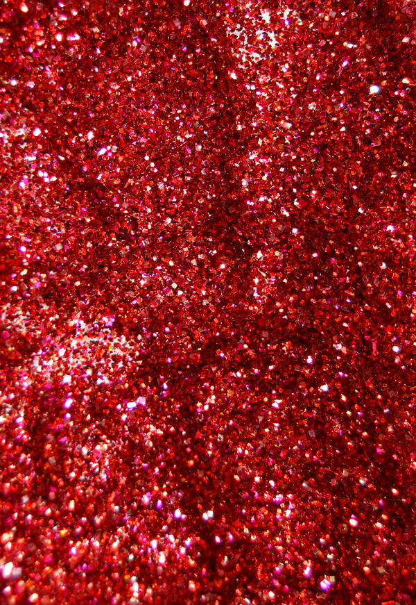 Red glitter by fotojenny