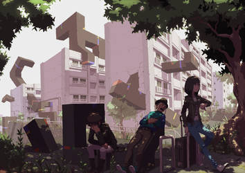 Apartment by Tomiokajiro