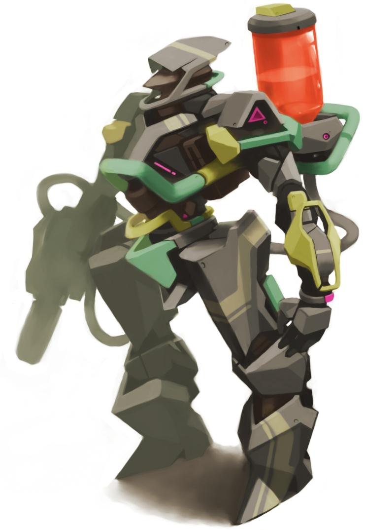 robot by Tomiokajiro