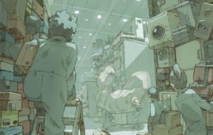 warehouse by Tomiokajiro
