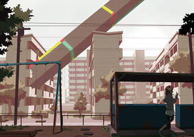 Apartment 2 by Tomiokajiro