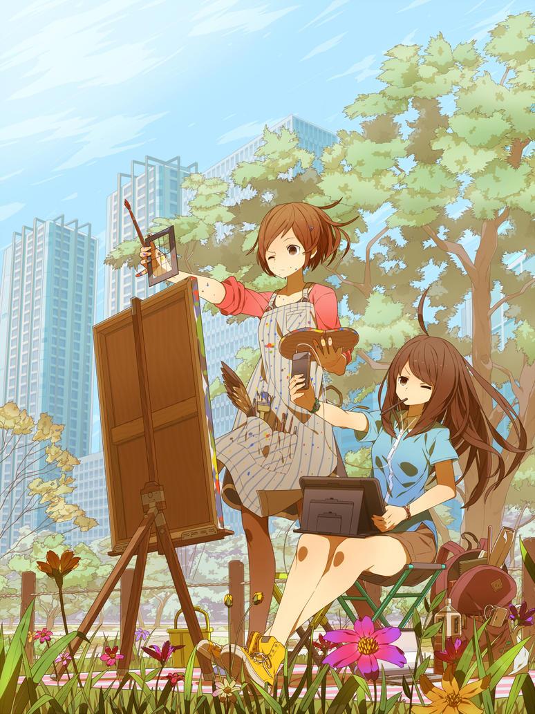 Sketch by Tomiokajiro