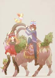 Pokemon XY by Tomiokajiro