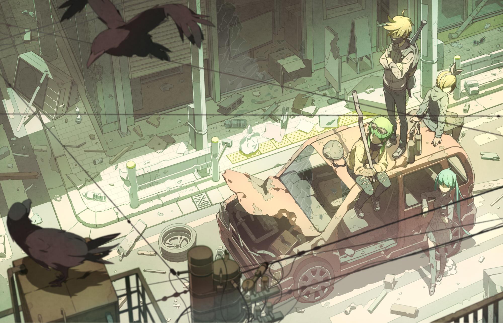 Eastend Pandemonium by Tomiokajiro