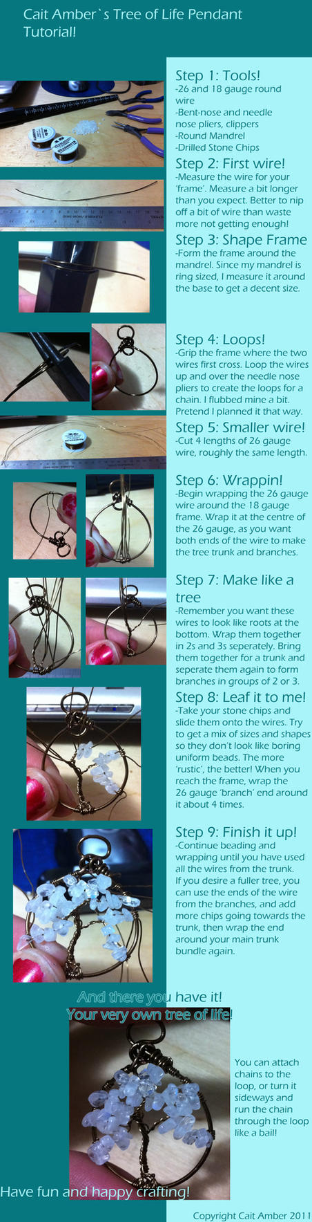 Tree of Life Pendant Tutorial by tanyquil