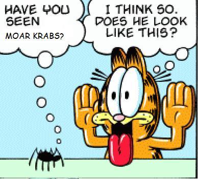 garfield likes moar krabs by wecato