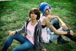Chloe and Max Cosplay : Junkyard