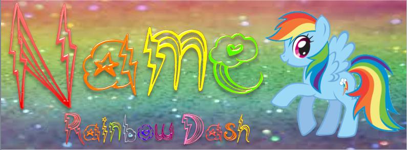 ~Rainbow Dash Sig~ by StarCatcherZ