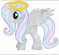 ~Adopted Angel Pony~ by StarCatcherZ