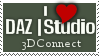 3DConnect DAZ Studio Stamp by 3dConnect