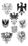 Heraldry Motifs - Eagles