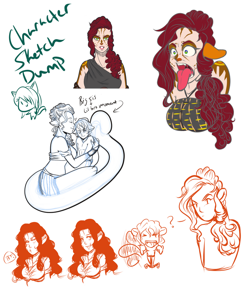 Sketch Dump by VoodooRed