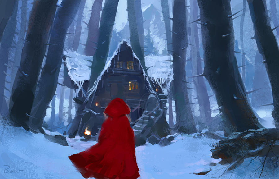 Red Riding Hood by Bowkl