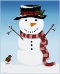 Snowman by Bumblewales