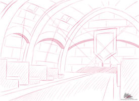 Concept Setting - Hall of the Brotherhood