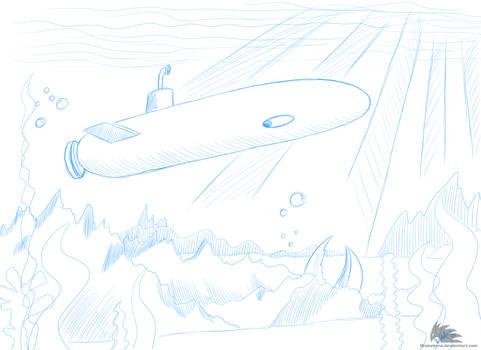 Concept Setting - Submarine