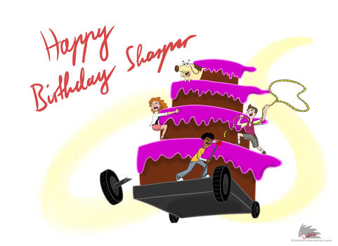 Milo Murphy's Law - Happy Birthday Sharper