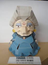 Yubaba Papercraft