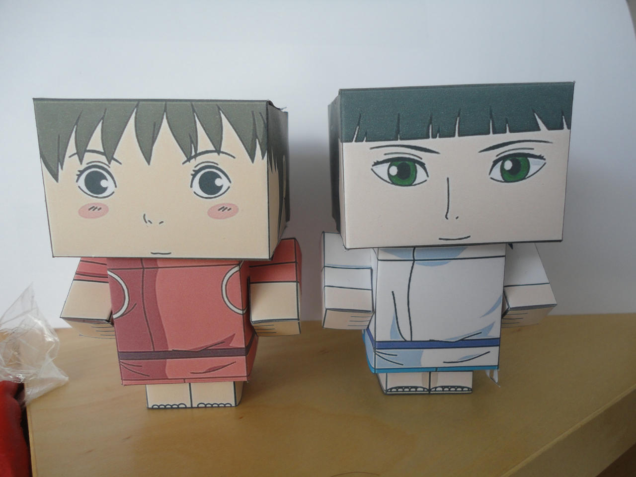 Sen and Haku Cubees