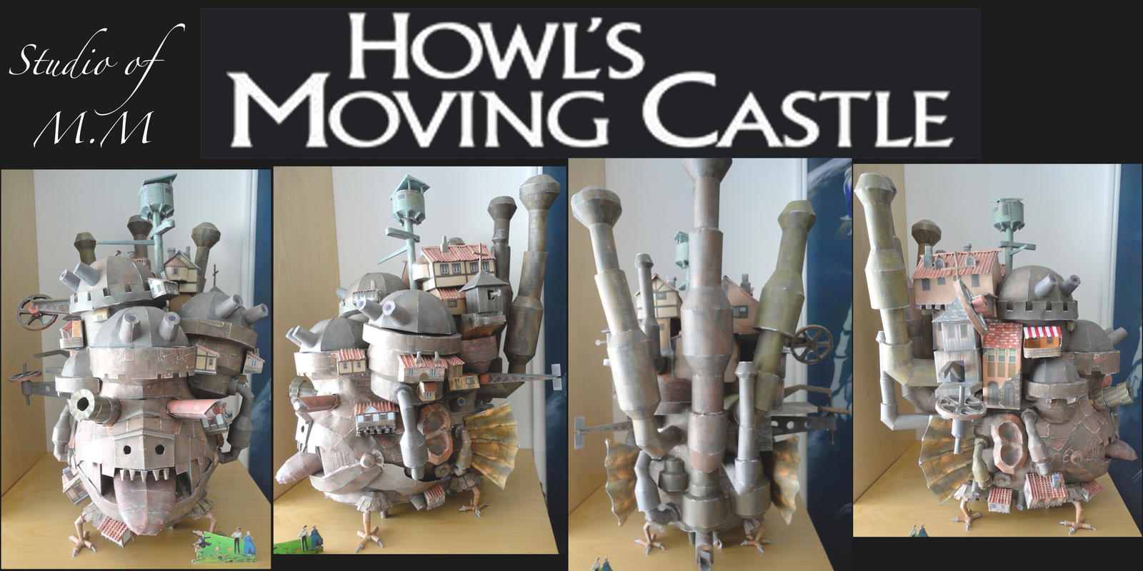 Howl's Moving Castle of Paper